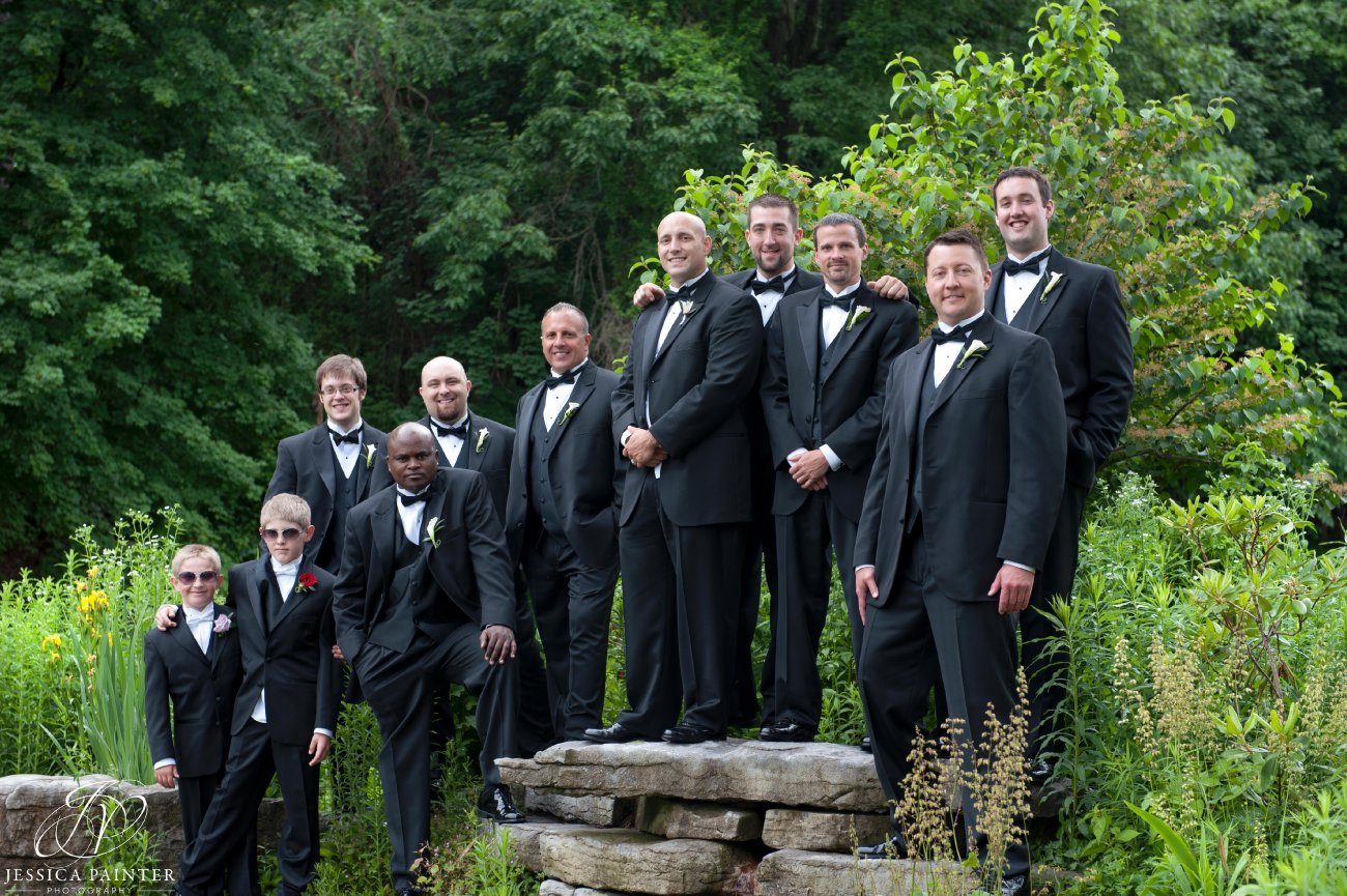 albany wedding, schenectady wedding, Schenectady rose garden, groomsman, best man, groom
