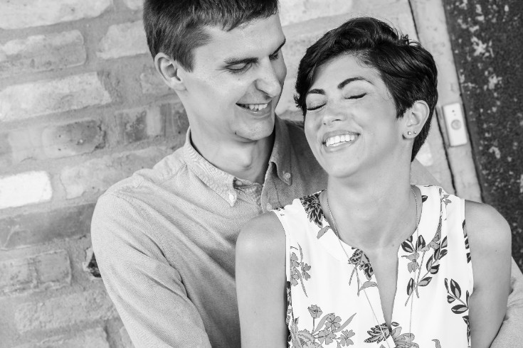 Marcia & Jay. Engaged.