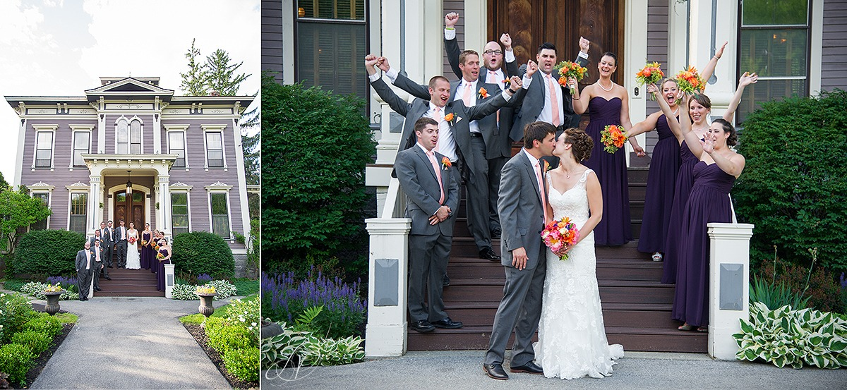 fun shots of bridal party