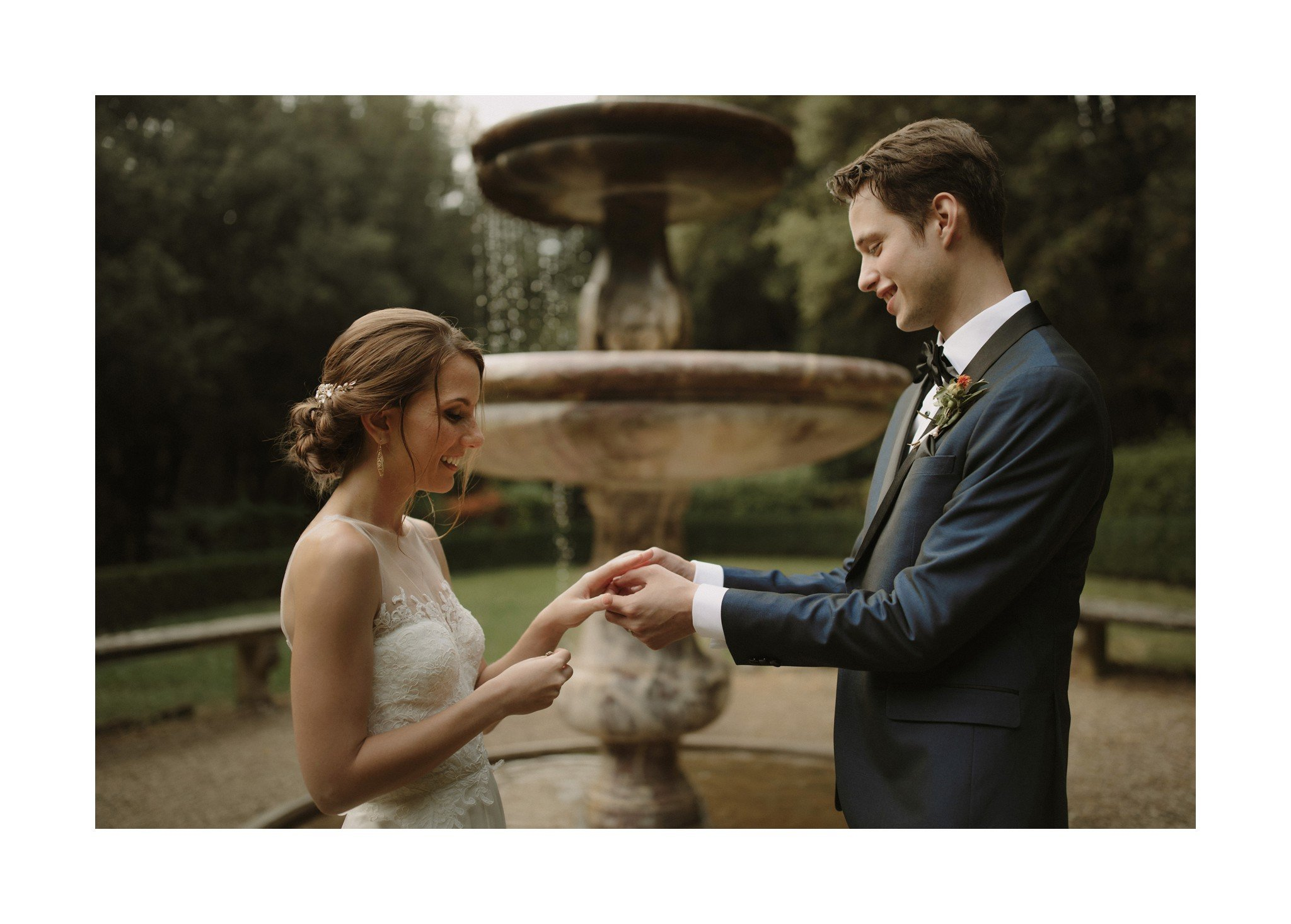 ring exchange elopement italy
