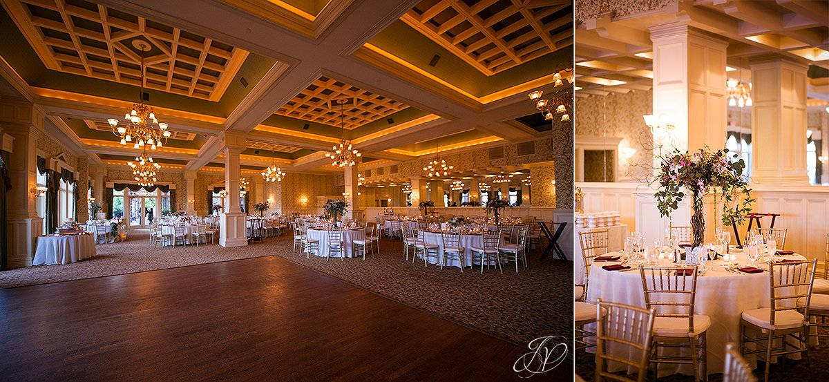wedding reception ballroom inn at erlowest lake george