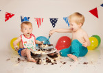 Cake Smash with Birthday Boy Jayden from Horley