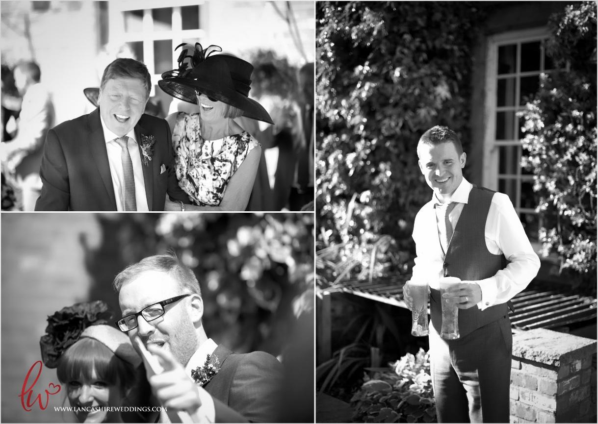 Nunsmere Hall Wedding day