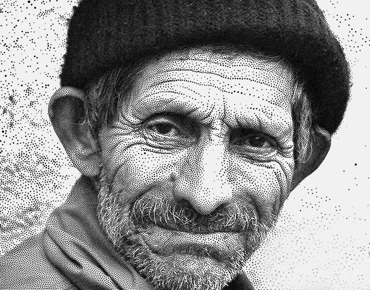 Stipple Type Portraits, Just Like the Wall Street Journal! - Neil ...