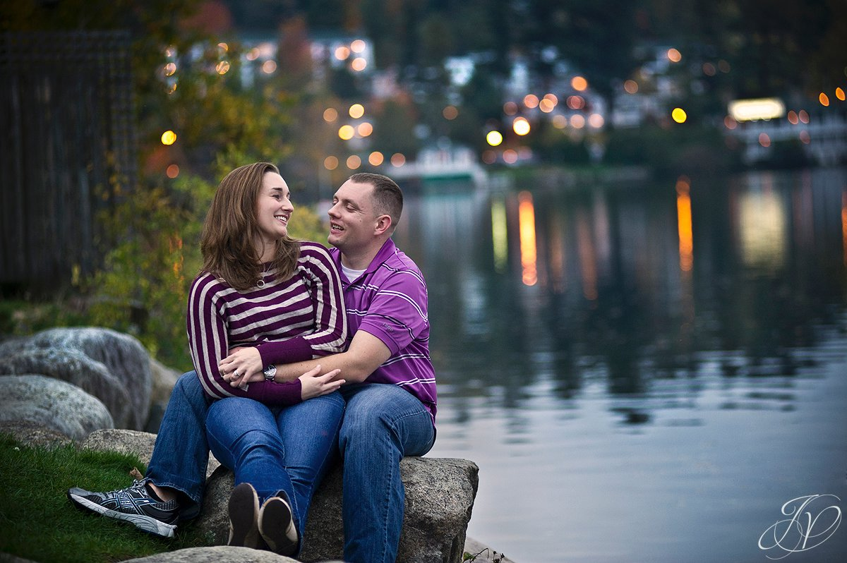 sunset at mirror lake, sunset engagement session, Lake Placid Wedding Photographer, mirror lake engagement session, Lake Placid engagement Photographer, lake placid Engagement Session
