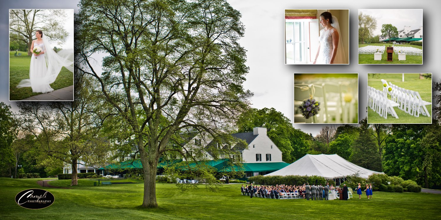 merion golf club wedding