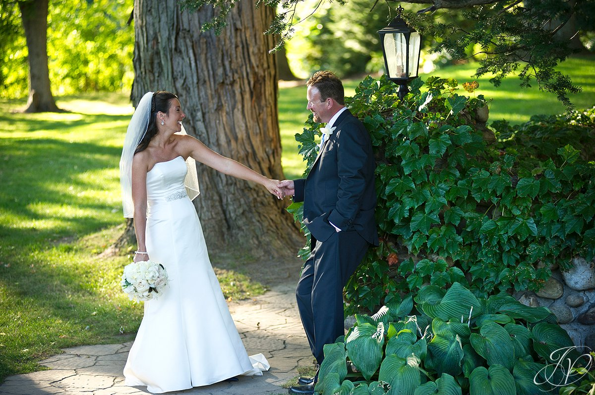 bride and groom photo, wedding ceremony photo, riverstone manor, schenectady wedding photographer