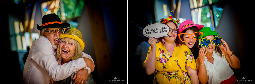 Laughter at a wedding at The Mill Barns