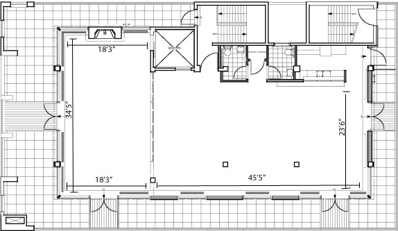 penthouse 45 floor plan