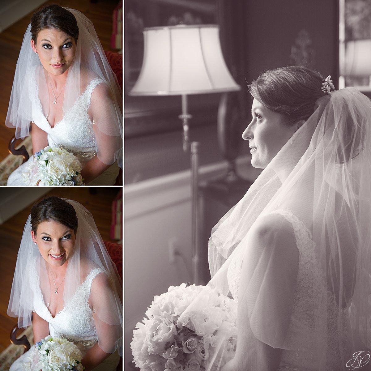 bridal portrait at Shenandoah valley golf club