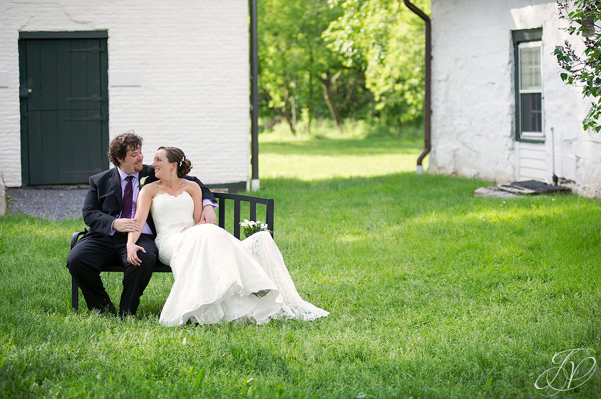 bride and groom candid, mabee farms historic site, wedding at mabee Farms, Schenectady Wedding Photographer, Key Hall Proctors reception