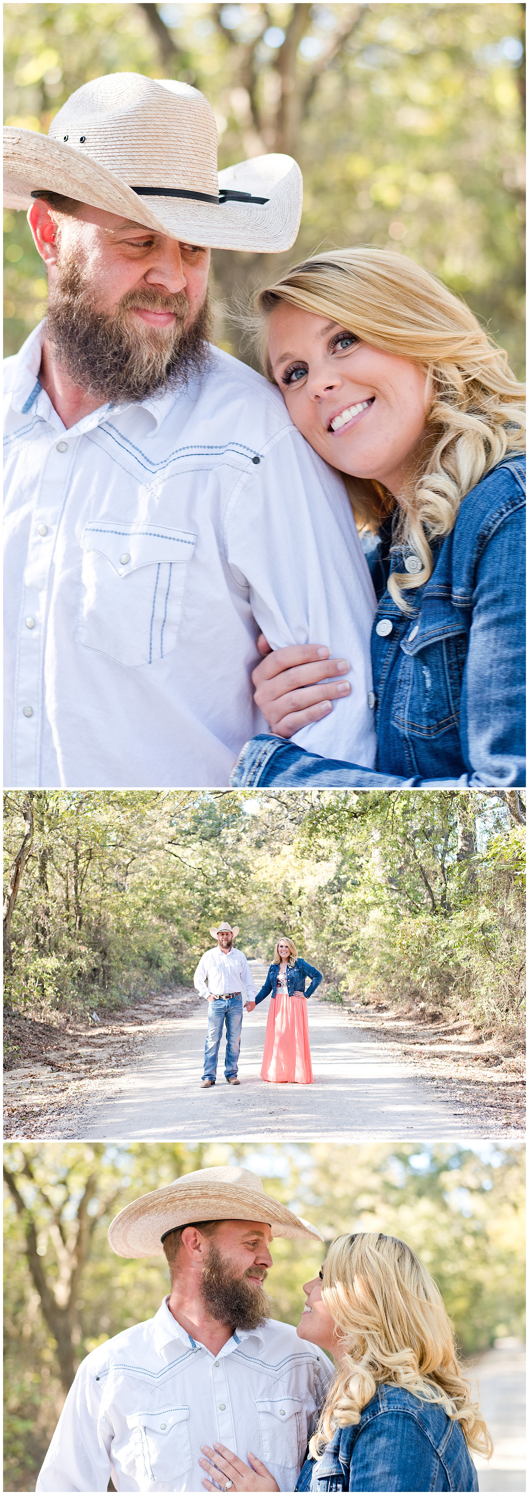 Fall Engagement Session in Texas