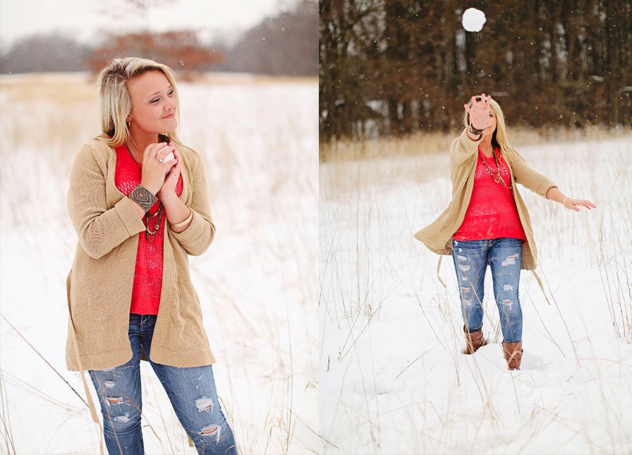 {Southampton County} Senior Snow Session