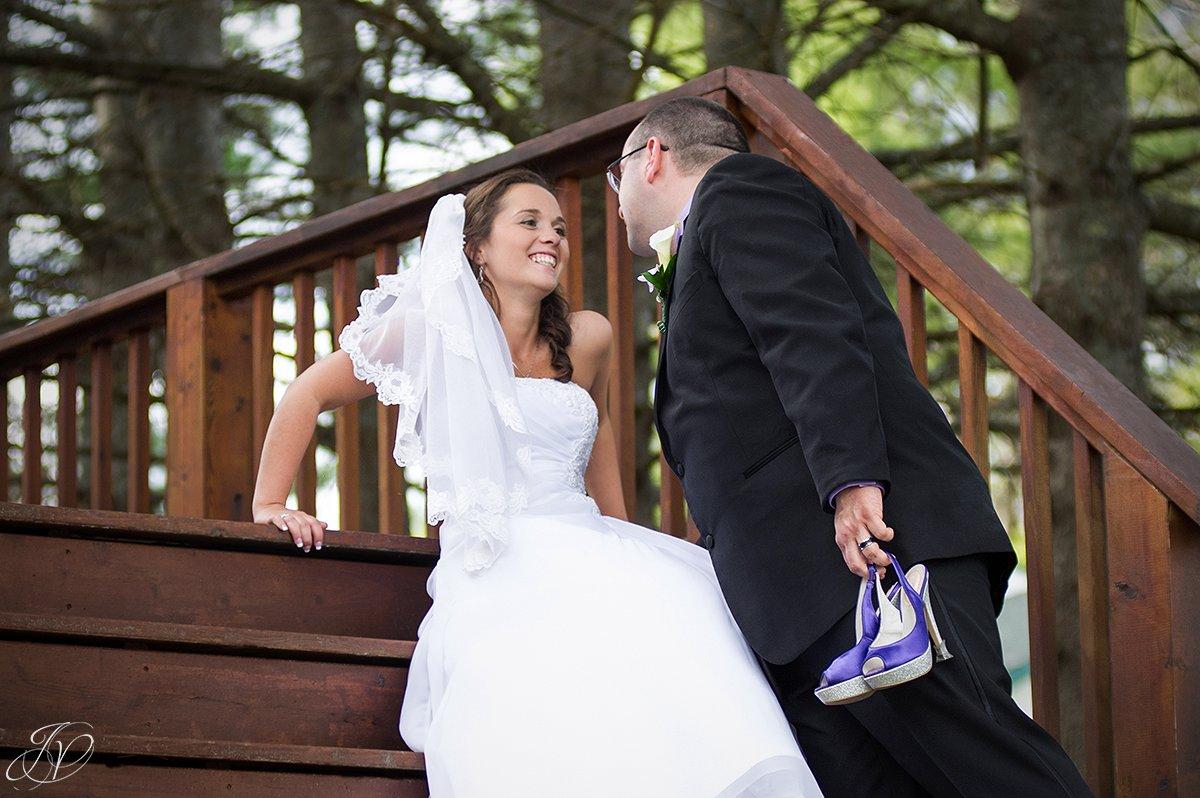 romantic bride and groom photo