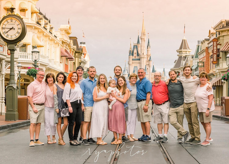 Main Street, U.S.A., Disney World, Magic Kingdom Park, VIP Tours, Ryaphotos