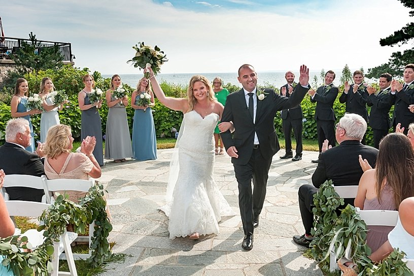 colony hotel kennebunkport outdoor ceremony