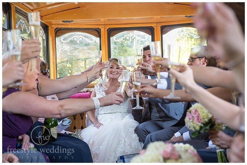 Atlantica Wedding in Cohasset Harbor photographed by Freestyle Weddings