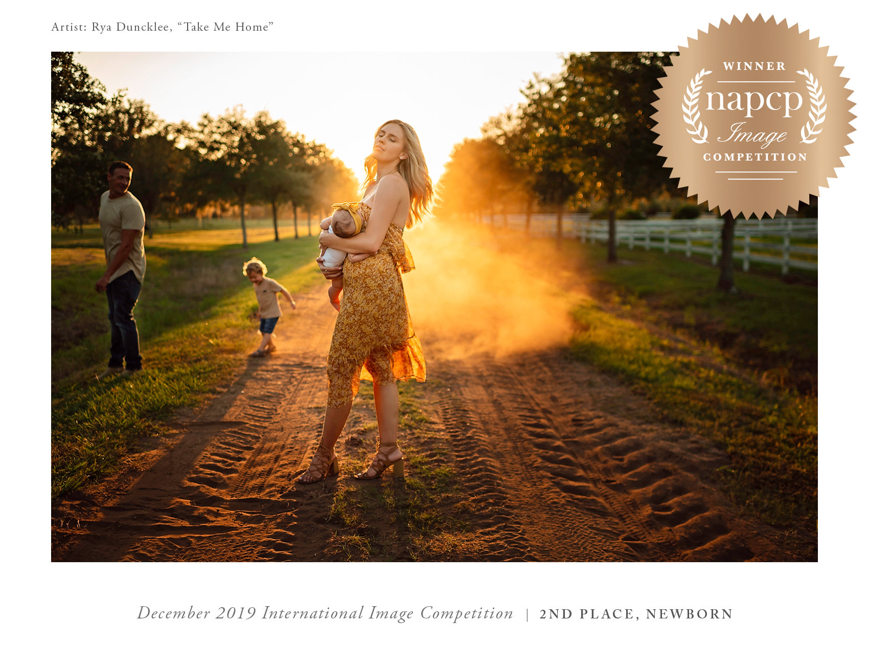 Artist Rya Duncklee, Winner NAPCP Image Competition, December 2019 International Image Competition, Ryan Lochte, Ryan Lochte wife, Ryan Lochte kids