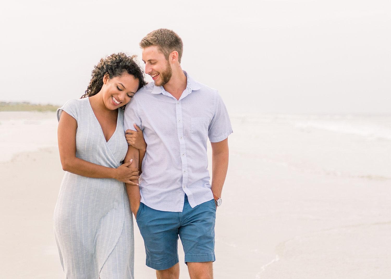 couples portrait photography, St. Augustine Beach, Florida, Rya Duncklee Photography