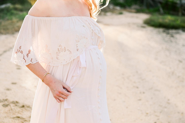 bohemian baby bump, bohemian maternity dress, Florida maternity photographer